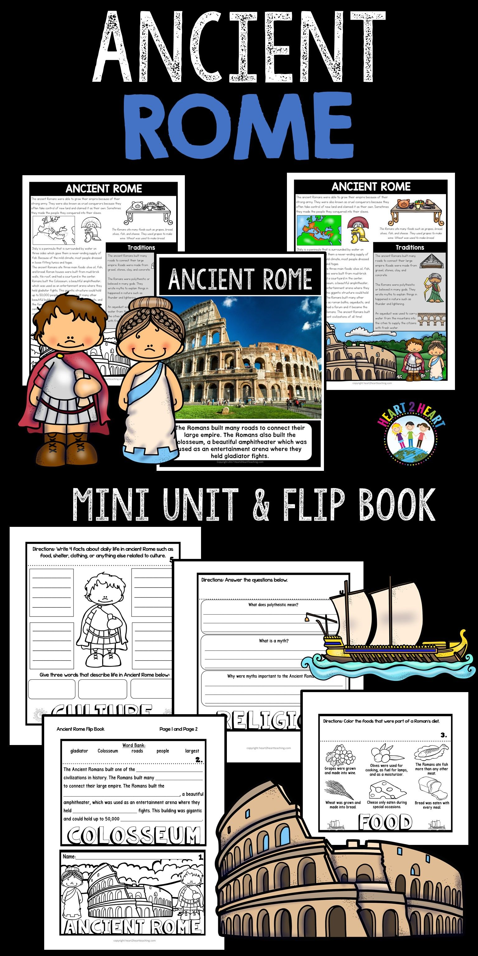 Step Back In Time And Learn All About Ancient Rome