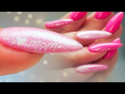 Mothers Day Nail Art Pro Tips Gel Polish And Calligraphy Pen