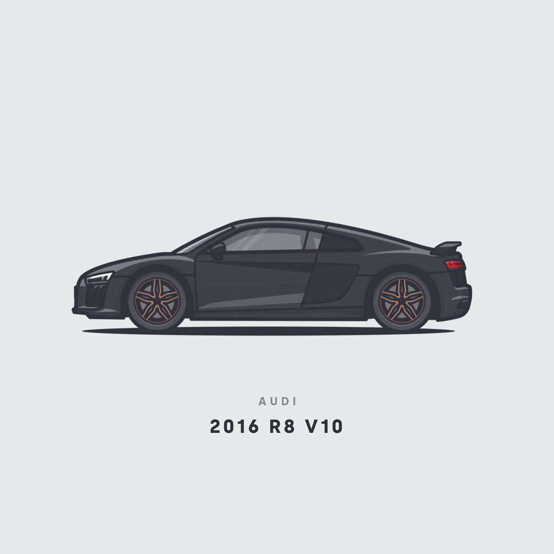 Car: 2016 Audi R8 V10... #audir8