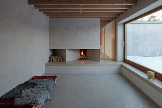chemin e en b ton concrete fireplace chemin e en b ton concrete fire place en 2018. Black Bedroom Furniture Sets. Home Design Ideas