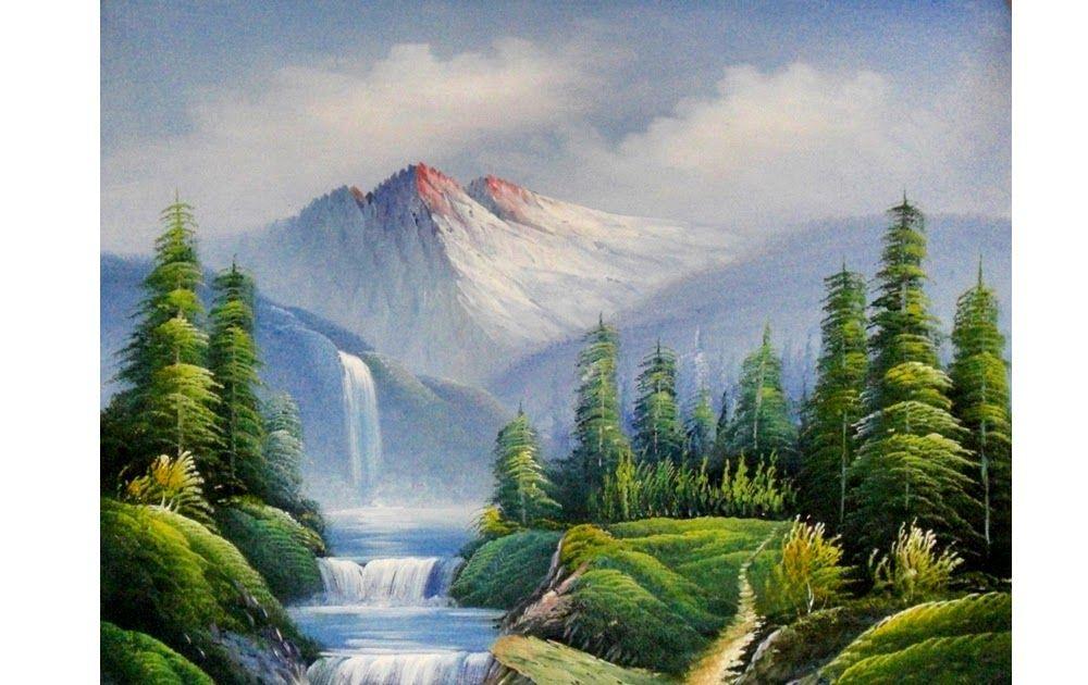 30 Lukisan Pemandangan Alam Dan Hewan Kualitas Tinggi