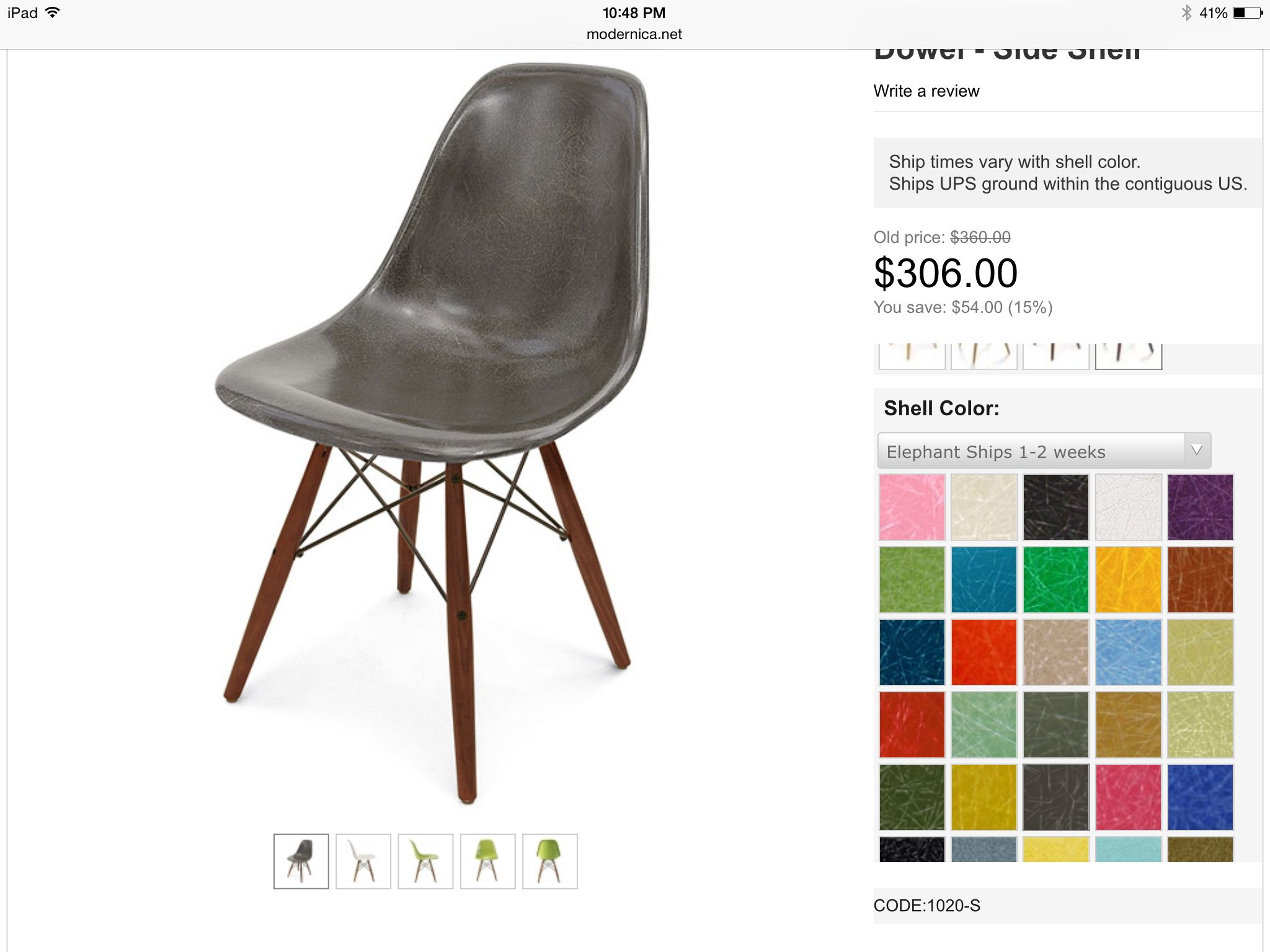 Modernica chair DINING CHAIRS Pinterest