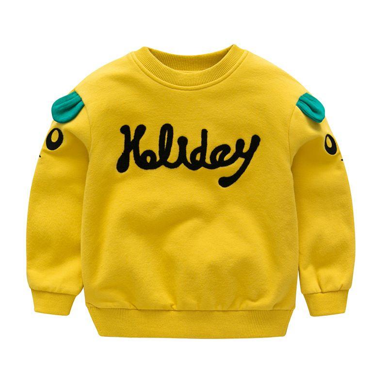 bd7ae3ac6186 New Autumn Winter Baby Boys Girls T Shirt Outwear Cotton Sleeve ...