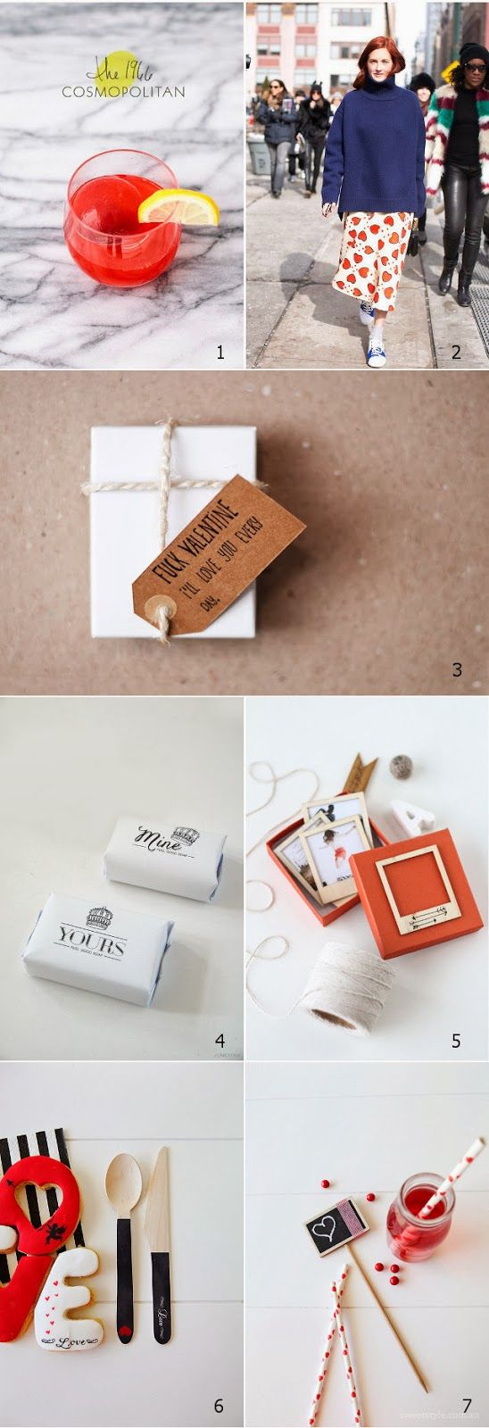 Valentine 2014 - DIY and some unconventional ideas via LAUsNOTEbook