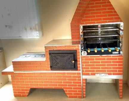 Resultado de imagen para fogao forno e churrasqueira