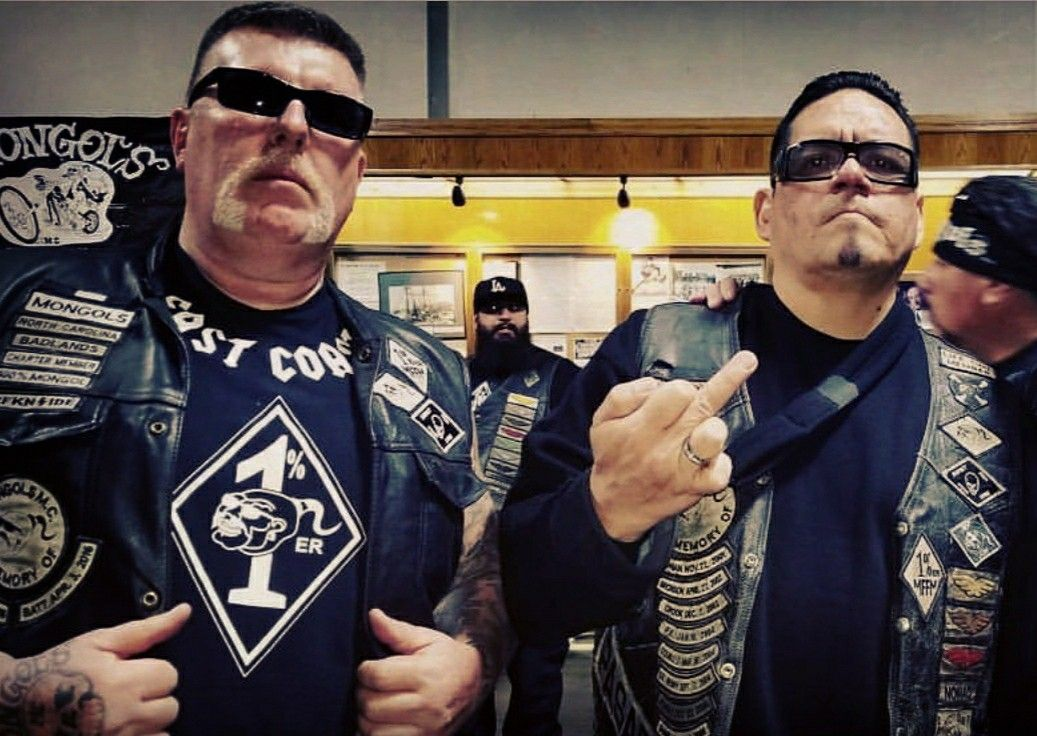 Mongols MC    Junkman and big monster at the national in LA