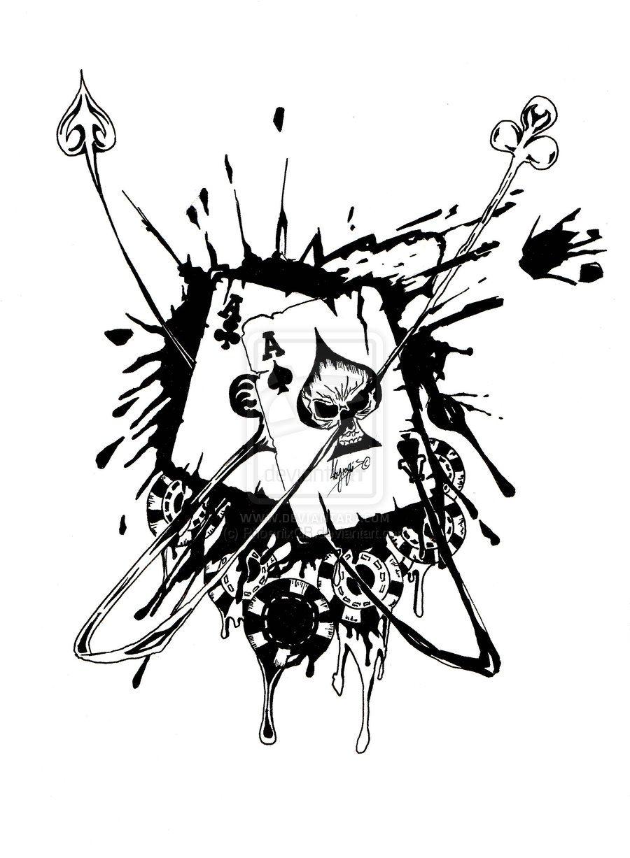 Tattoovorlagen Würfel