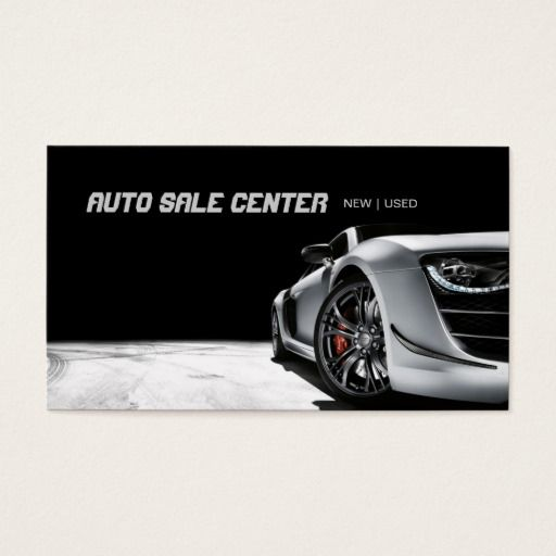 Auto sale car dealership business card auto sales business cards auto sale car dealership business card reheart Image collections