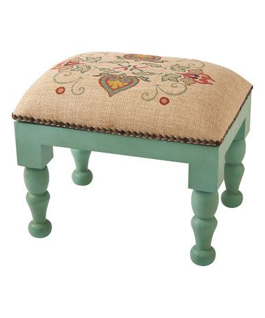 Look at this #zulilyfind! Rectangle Scroll Foot Stool #zulilyfinds ...