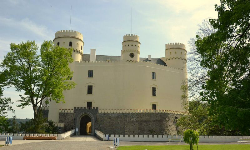Orlik Chateâu - Constructed in the second half of the 13th century.