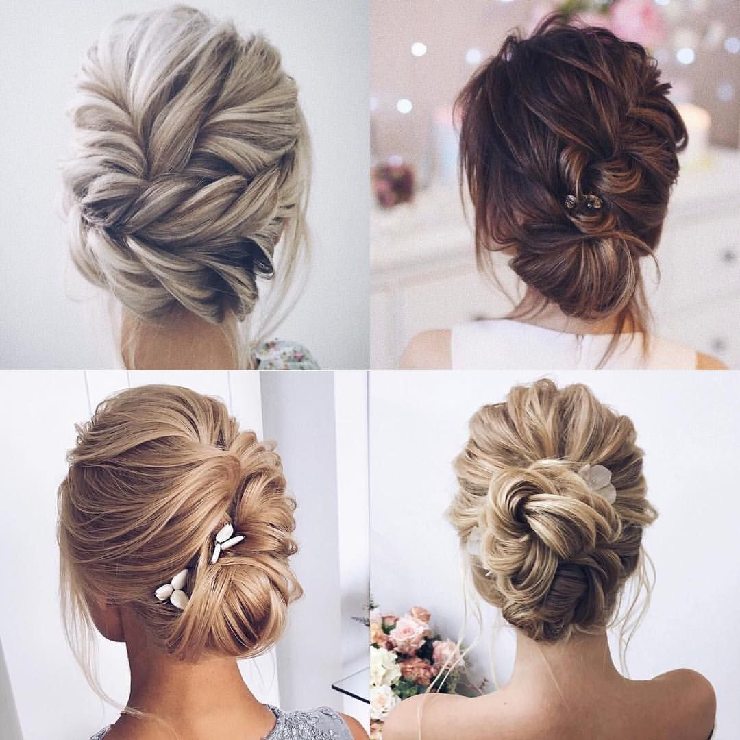 Four fabulous up do ideas for your maids. Which one would ...