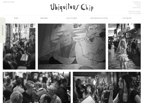 The Ubiquitous Chip / Stravaigin by Graphical House