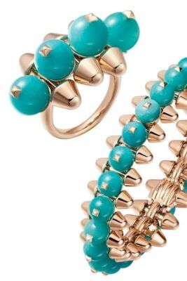 #Cartier's stunning new limited edition collection showcases amazonite beads. 😍 #jewelry #designerjewelry #luxuryjewelry #cartierjewelry