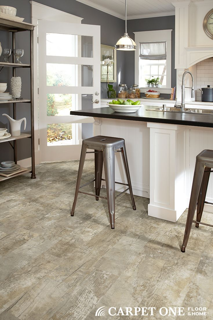 vinyl plank flooring is great for creating a unique look in a kitchen room kitchens home on kitchen remodel vinyl flooring id=35845