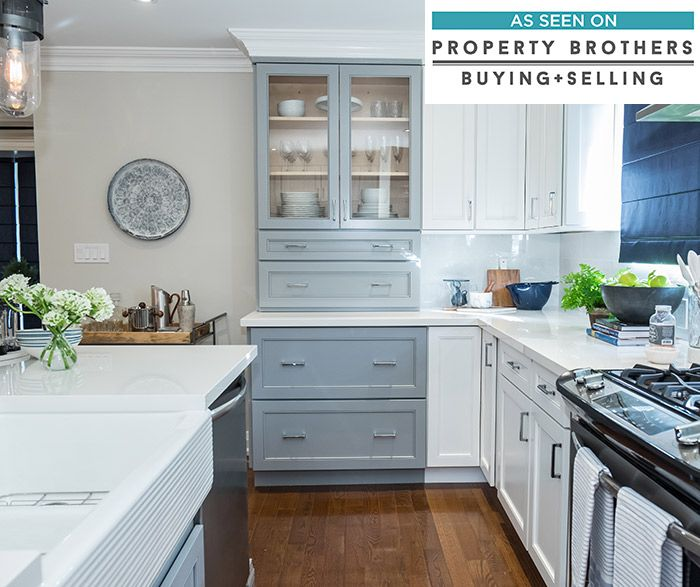 pleasing to the eyes a color combination of juniper berry blue and white kitchen cabinets is on kitchen cabinets blue id=97586