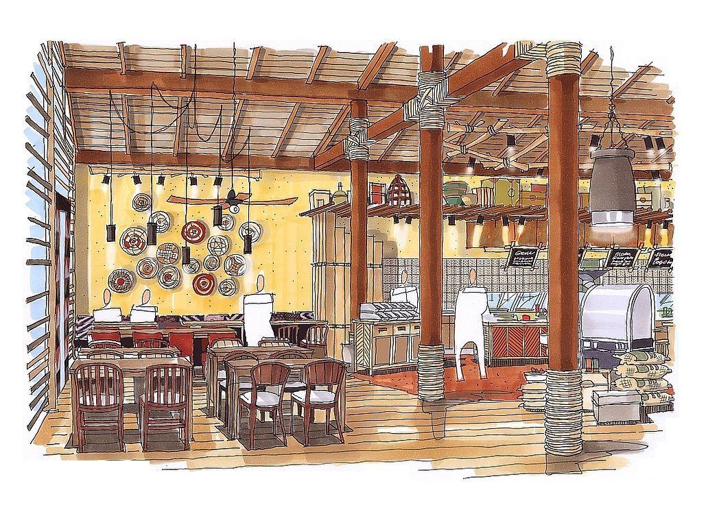 Vintage innenarchitektur marché restaurant zoo magdeburgdecoris interior design zürich