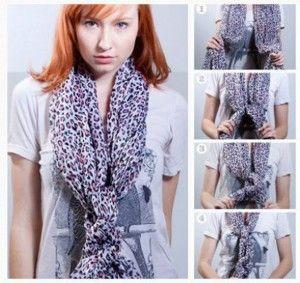 Formas De Usar Una Bufanda 1001 Consejos Fashion Crochet Scarf Scarf