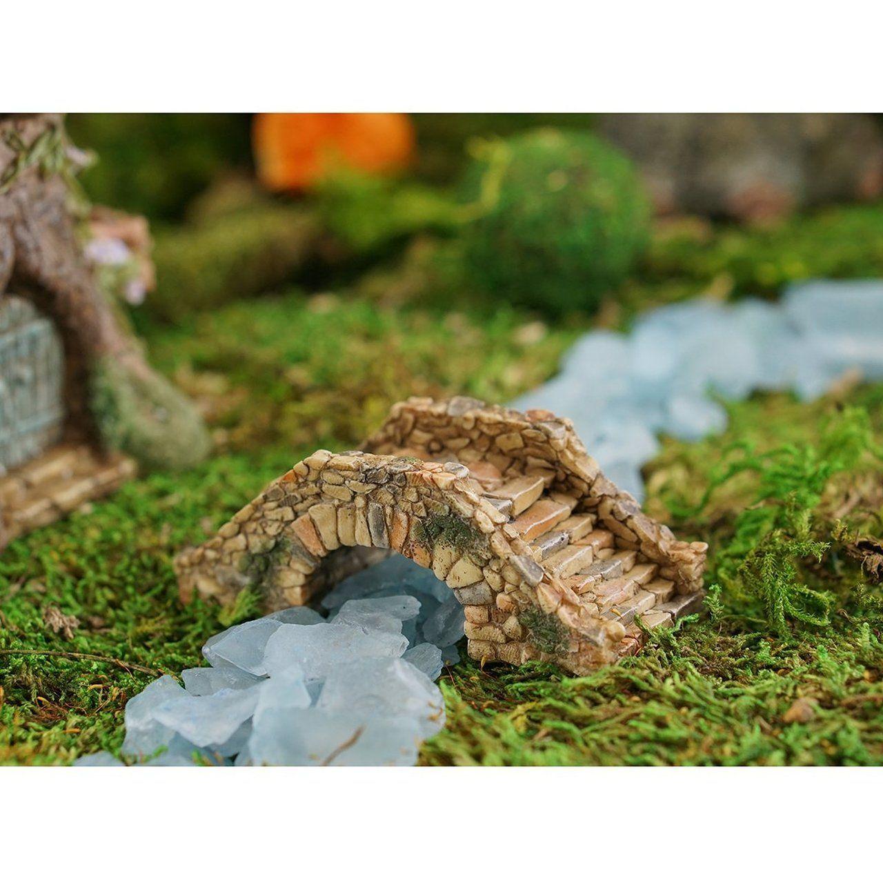 Cobblestone Bridge Miniature Fairy Gardens Fairy Garden 400 x 300