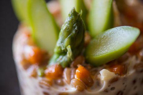 epeautre façon risotto aux asperges recette de chef ...