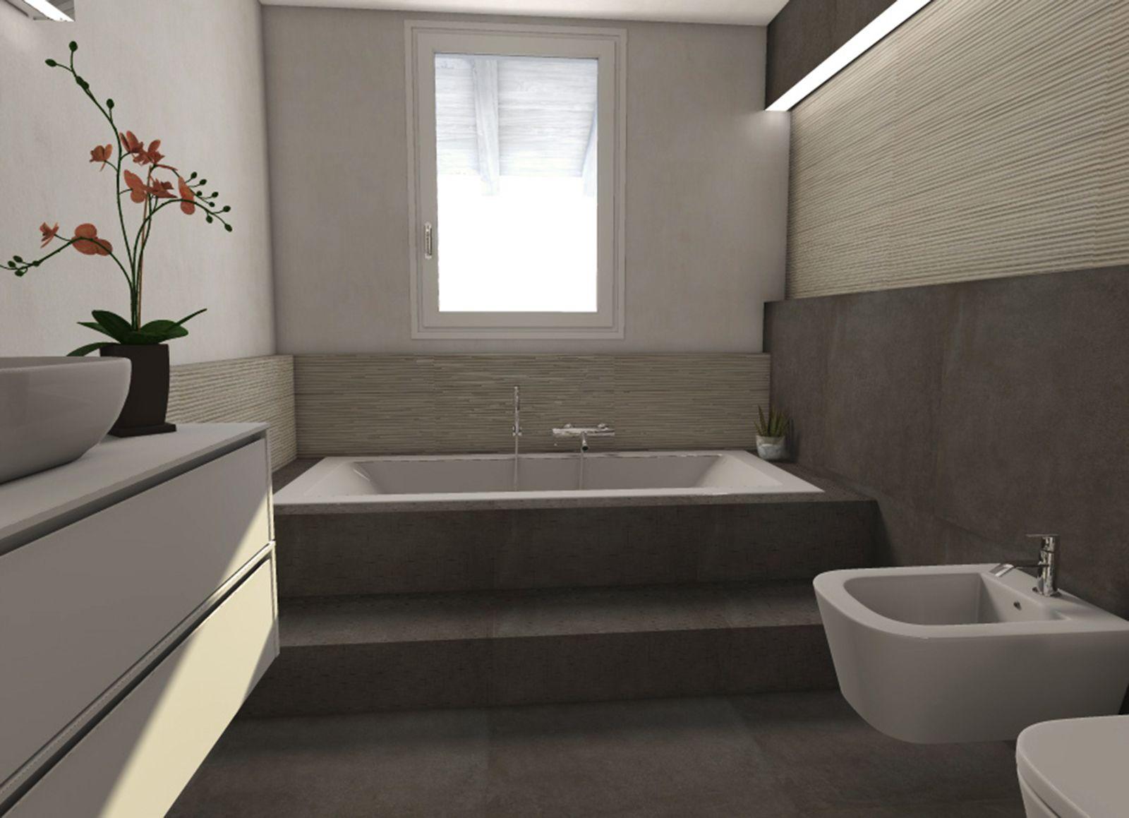 bagni moderni beige e grigio  Cerca con Google  Home