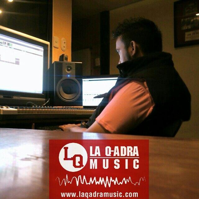 En el studio @laqadramusic laqadramusic.com MarkBlade La Eminencia