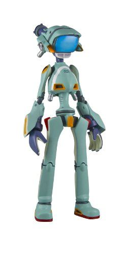 Sentinel Flcl Canti Green Riobone Action Figure A Japanese Import From The Original Video Animation Series Detailed Rio Bone Figure Flcl Tv Head Robot