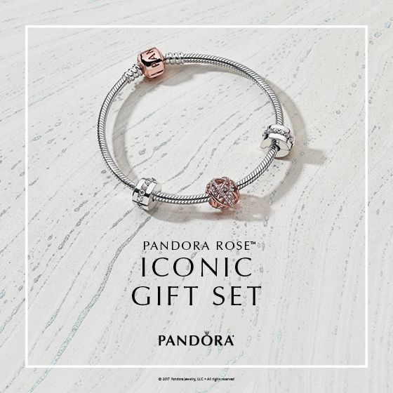Now Available! The PANDORA Rose™ Iconic Gift Set is the perfect ...