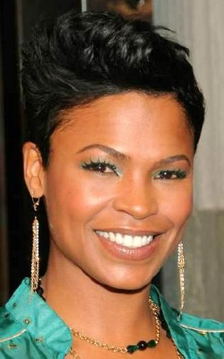 Nia Long Photos Very Short Hair Short Hair Styles African American Short Hair Styles