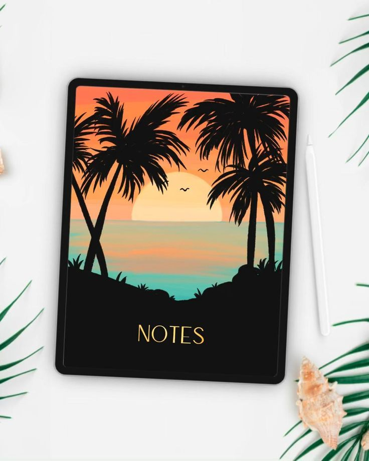 Surf Notebook Covers 6 digital notebook Covers for Goodnotes | Etsy