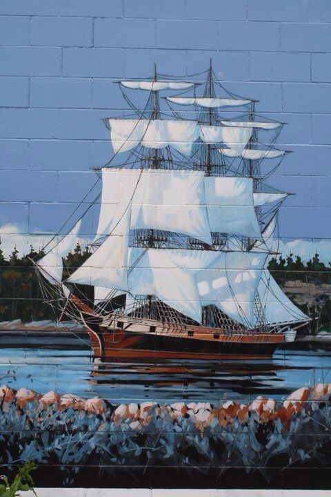 Chemainus is a community on the east coast of Vancouver Island, British Columbia, Canada. Many of the buildings in Chemainus are painted with beautiful murals.  Photo by Kathleen Intile