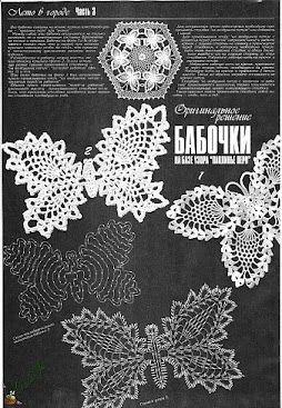crochelinhasagulhas: crochet butterfly