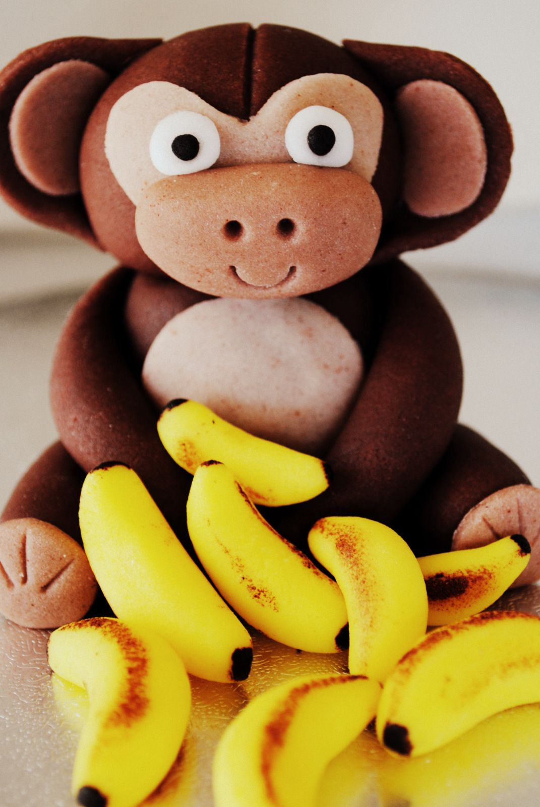 Cake toppers and figurines - Monkey | Cake toppers, Kids ...