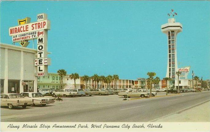 Old Panama City Beach Photos In The Miracle Strip Front Rd Florida