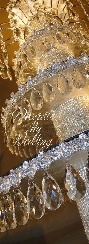 Pin de bridesgroomsparents just wedding ideas en - Mesa tower crystal ...