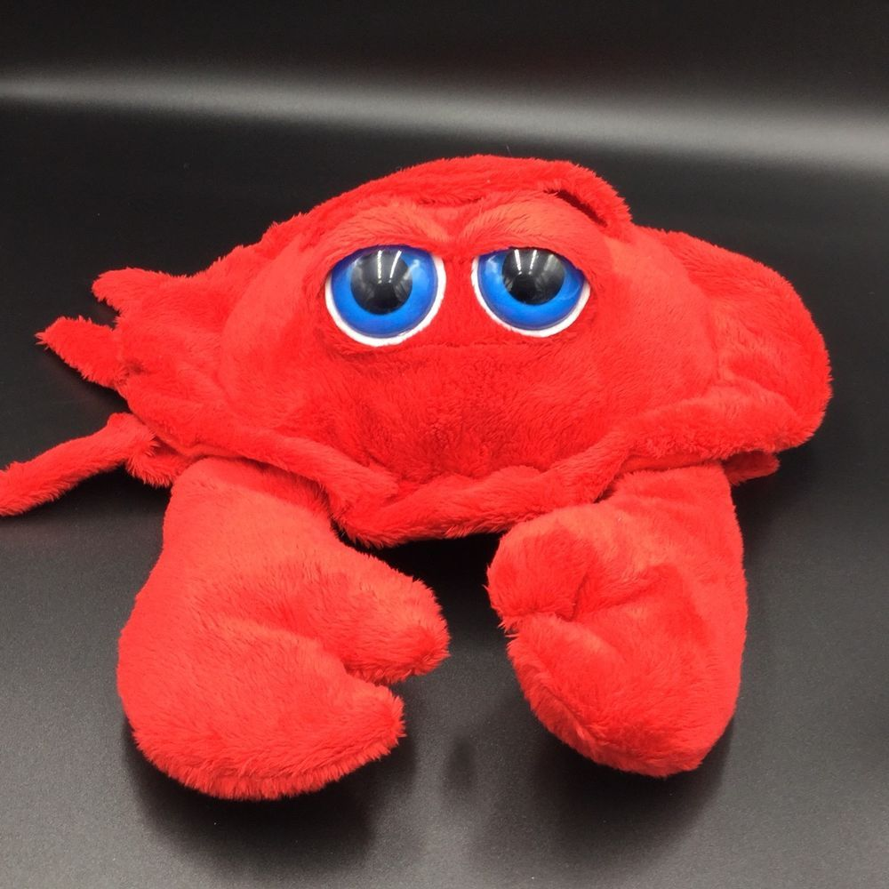 The Petting Zoo Red Crab Big Eyes Plush 10\