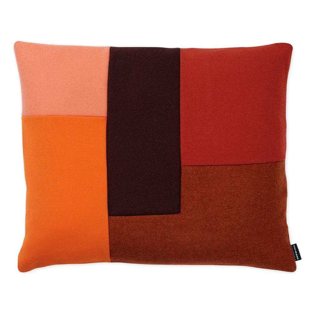Brick Orange Prydnadskudde | Normann Copenhagen | Länna Möbler | Handla online