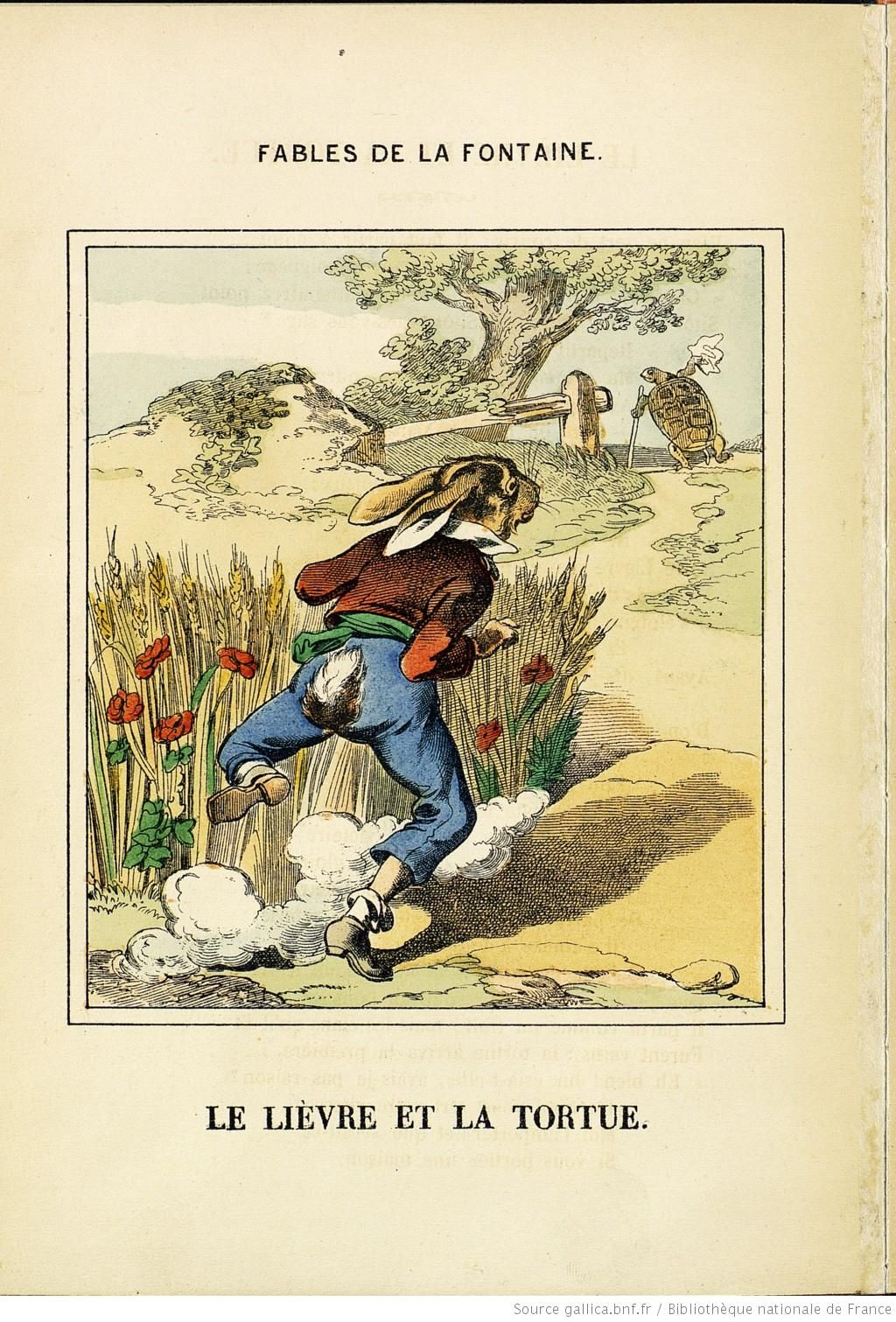 Fables de La Fontaine, n° 1 [-4], 1875 | illustrations en