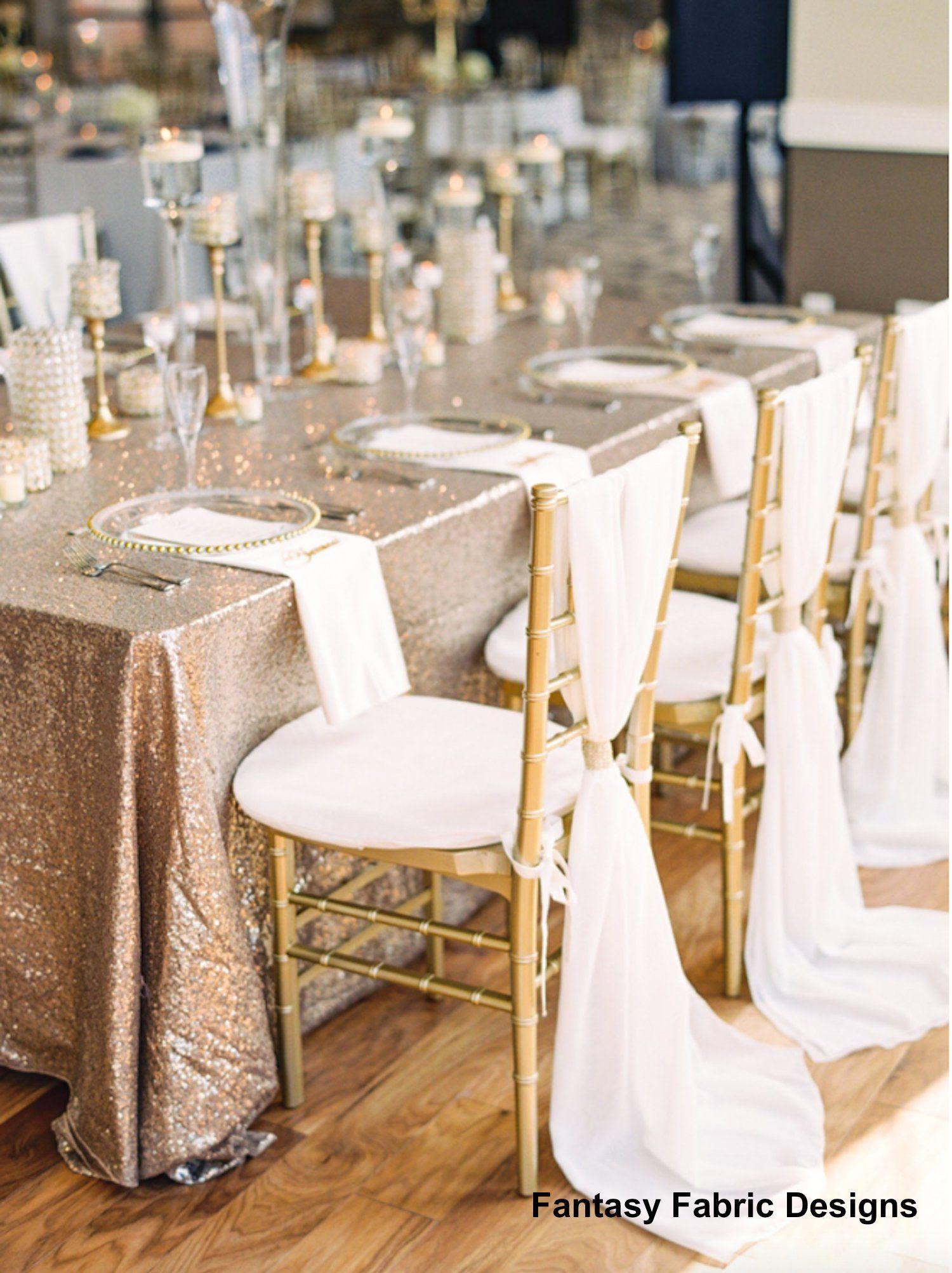 Sale Bulk 50 Wedding Decor Wedding Chair Covers Chair Sash Chiffon Chair Sash Wedding Chair Covers C Chiavari Chairs Chair Covers Wedding Chair Cushions