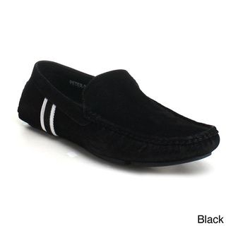 J's Awake Men's 'Peter-32' Driving Moccasin Loafers - Overstock™ Shopping - Great Deals on Loafers