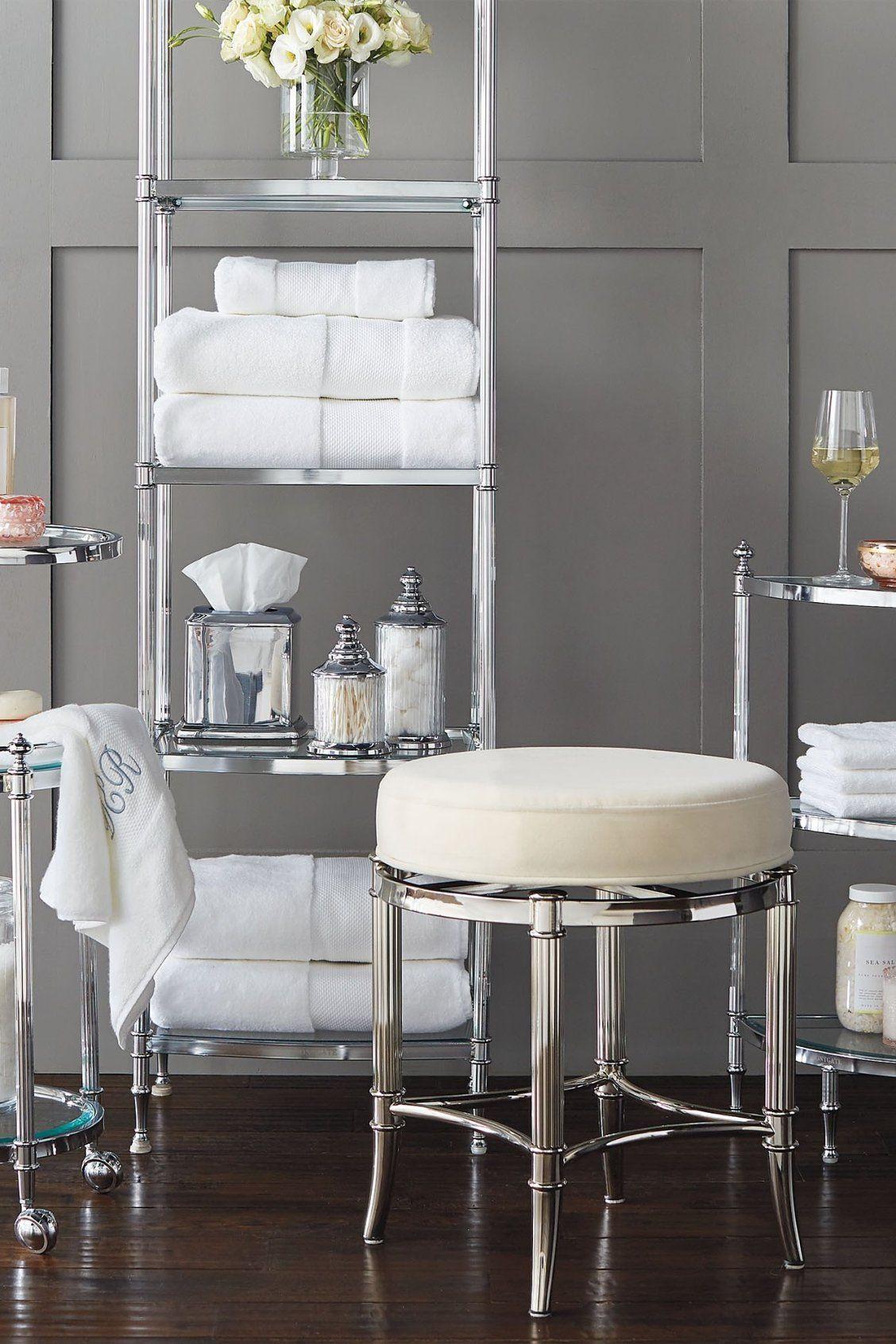 Bailey swivel vanity stool in 2020 vanity stool