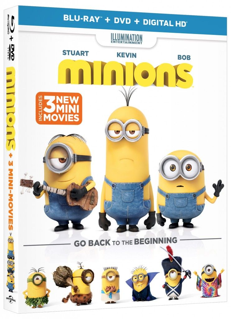 Minions on DVD - You know the kids will watch this one over and over again!