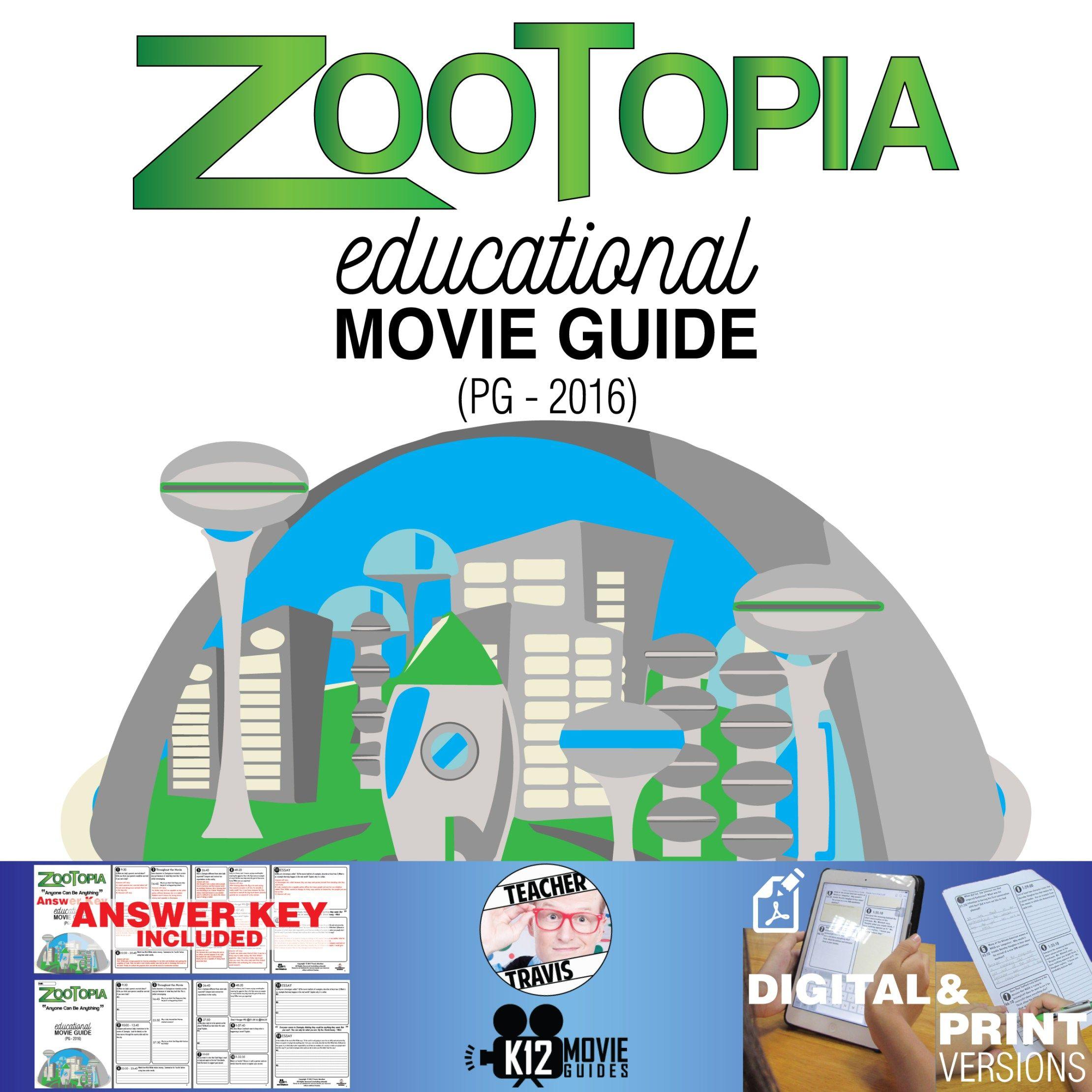 Zootopia Movie Guide