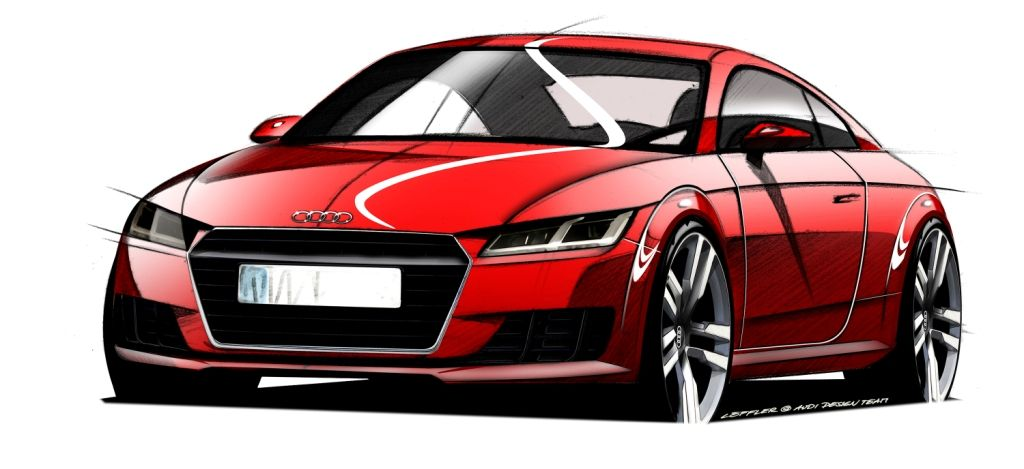 All-New Audi TT Ready To Take Shape In Geneva: At next month's Geneva Motor Show Audi will pull the wraps from a completely new iteration of the compact sports car that tore up the rulebook and changed the course of design in its class at its 1998 launch. Read more here: http://www.performance-car-guide.co.uk/all-new-audi-tt-ready-to-take-shape-in-geneva.html #AudiTT #Geneva