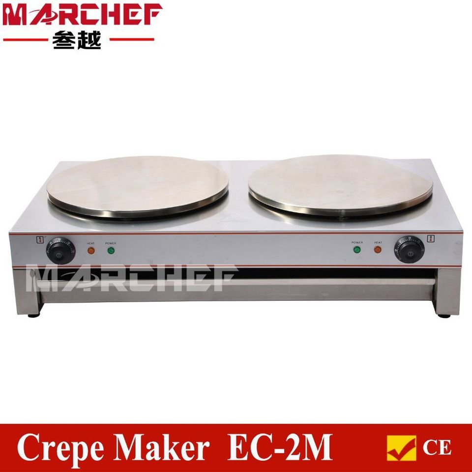 Electric kitchen stoves  CM Double Head Industrail Crepe Maker Machine Electric Pancake