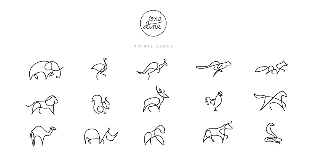 Line Drawing Animal Tattoos : Image result for line logos kul idei in pinterest