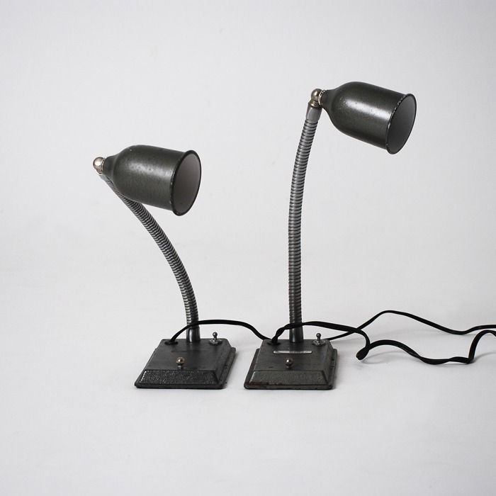twin gossiping lamps