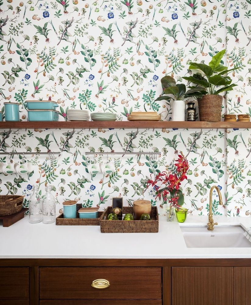 Gallery Of How To Calculate How Much Wallpaper You Need 2 Nakhon Pathom Modern Kitchen Space