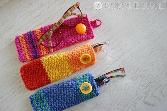 7b889d73053 Eyewear Case Crochet Pattern by Susan Carlson of Felted Button