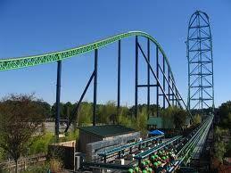 Ride The Kingda Ka Tallest Roller Coaster 456 Feet Six Flags Great Adventure Best Roller Coasters Kingda Ka