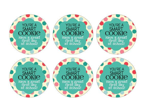 picture regarding You're One Smart Cookie Printable named Pin through Nicole Moss upon Faculty Things Clever cookie printable